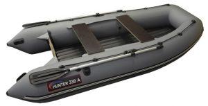 Лодка ПВХ Хантер 330 А надувная под мотор