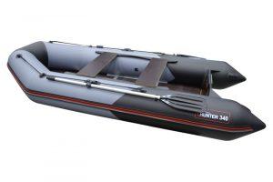 Лодка ПВХ Хантер 340 надувная под мотор