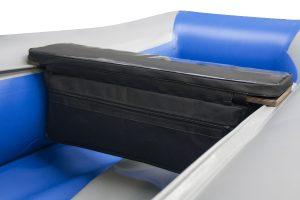 Фото мягкой накладки с сумкой (верх пвх) (95 см)