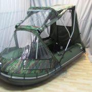 Фото тента-комби на лодку Ривьера 3200 С