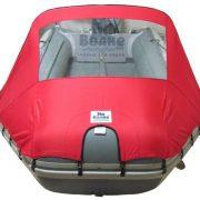 Фото носового тента с окном на лодку Пилигрим 340