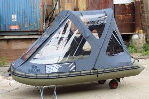 Тент-трансформер на лодку Пиранья 320 Q5 SLХ