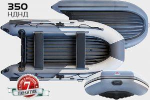 Лодка ПВХ Юкона (YUKONA) 350 НДНД надувная под мотор