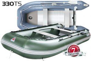 Лодка ПВХ Юкона (YUKONA) 330 TS – U Фанерная слань