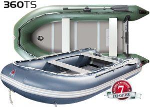 Лодка ПВХ Юкона (YUKONA) 360 TS – U Алюминиевая слань