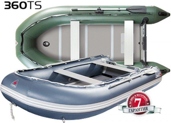 Фото лодки Юкона (YUKONA) 360 TS – U Фанерная слань