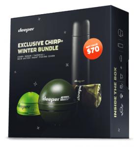 Беспроводной Эхолот Deeper Smart Sonar CHIRP+ Зимний комплект