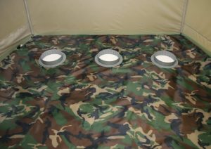 Фото Пол утепленный для палатки Лотос 3 ПУ4000 с отверстиями под лунки