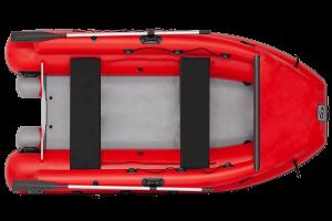 Лодка ПВХ Фрегат M-370 FM Lux надувная под мотор