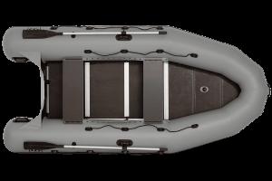 Лодка ПВХ Фрегат 370 Pro надувная под мотор