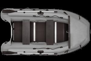 Лодка ПВХ Фрегат M-370 F надувная под мотор