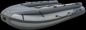 Лодка ПВХ Фрегат 420 Air F с НДНД, фальшбортом и фартуком